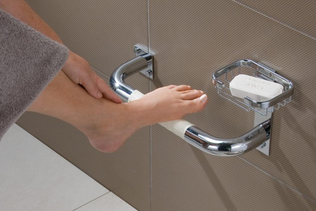 Nos facilita la seguridad en la ducha