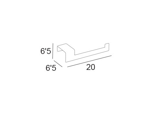 toallero bidet portarrollos sin tapa 5912 medidas