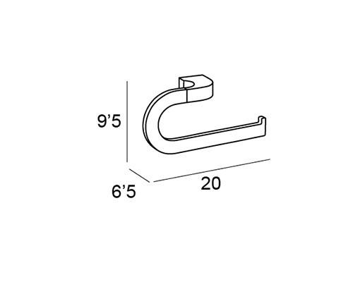 anilla pequena cromo 6702 medidas