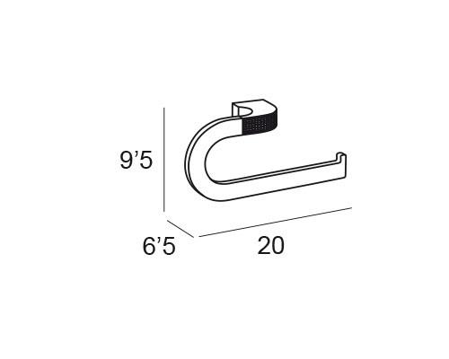 anilla pequena cromo 6602 medidas