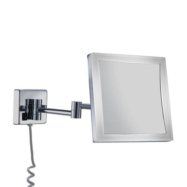 Espejo aumento 5x con LED 4W