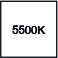 5500º kelvin