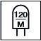 120 Led por metro
