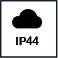 Protección IP44