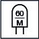 60 LED por metro
