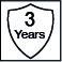 Garantía de 3 años